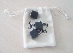 2X2cm 4X4 Cm Cubic Basalt Whiskey Stone pictures & photos