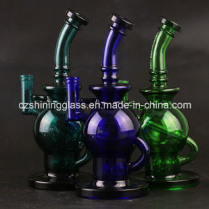 Shining Glass Water Pipes with Swiss Percolator for Tobacco Smoking pictures & photos