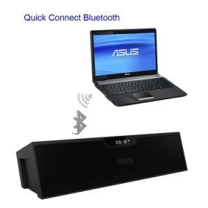 Black Portable Bluetooth Wireless Outdoor Speaker Enhanced Bass Resonator