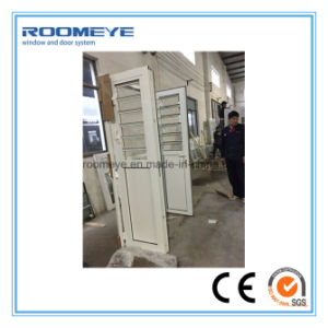 Roomeye Aluminum Casement Door with Shutter Glass 2017 New Product Modern Style pictures & photos