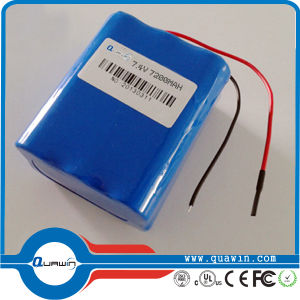 3s4p 11.1V 10400mAh 18650 Lithium Battery Pack pictures & photos