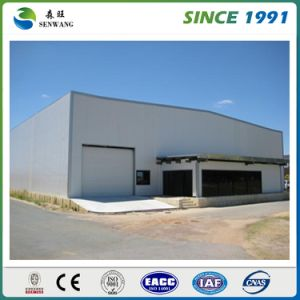 Sandwich Panel Steel Structure Workshop with Rolling Door pictures & photos