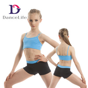abc2aef667b491 China C2417 Wholesale Girls Ballet Dance Tops Bra Top Crop Tops for ...