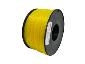 Nylon 1.75mm Yellow 3D Printing Filament for 3D Printer