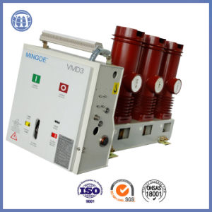 3150A 7.2 Kv Hv AC Vmd Vacuum Circuit Breaker with Assembly Pole