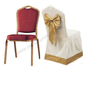 Hotel Wedding Banquet Chairs with Chair Cover pictures & photos