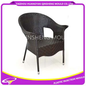 Plastic Injection Rattan Sofa Single Chair Mould