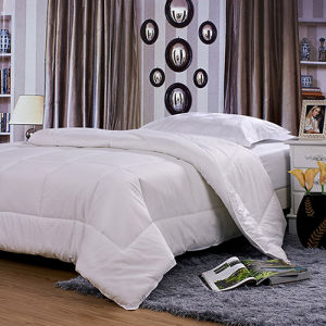 Polyester Microfiber Fitted Thin Quilt