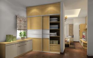 Professional Wardrobe Manufacturer Hot Sale Cheap Classic Bedroom Furniture (zy-059)