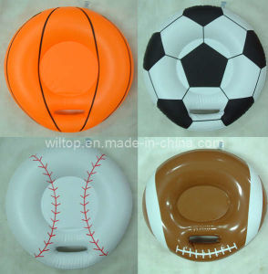 Inflatable Assorted Sport Ball Cushions (PM163) pictures & photos
