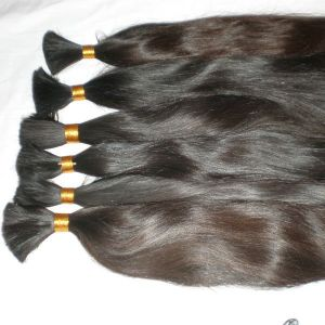 Natural Virgin Brazilian Remy Human Hair Bulk