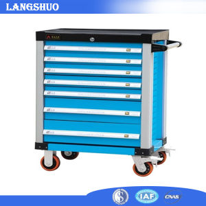 Hot Sell Roller Tool Box with Tools Set