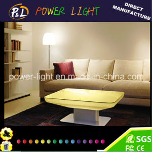 Lounge Furniture Colorful Waterproof Rechargeable LED Table pictures & photos