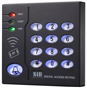 Square Plastic Prox Access Control RFID Card Reader (S208EM)