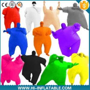 Inflatable Fat Suit Costume Sumo