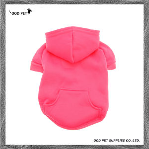 Personalized Logo Printed or Embroidered Blank Dog Hoodies Sph6001-15 pictures & photos
