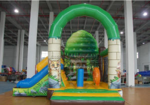 Cheer Amusement Jungle Combo Slide Inflatable Bouncers