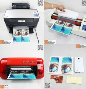 Starting a Home Business Mobile Phone Skin Printing Machine pictures & photos