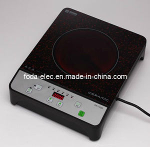 Cookware Table Top Key Type Single Coil Infrared Cooker/Hilight/Hi