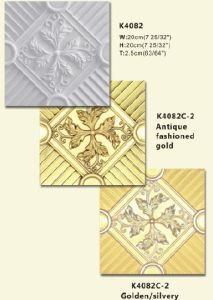 Wall Ornament/PU Ceiling Moulding/ Background (K4082) pictures & photos