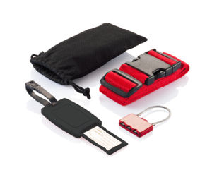 Travel Kit with Luggage Tags and Travel Lock and Luggage Belt pictures & photos