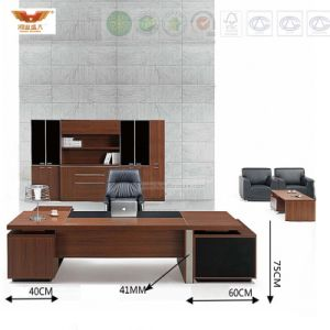 Fsc Forest Certified New Fashion Design Office Furniture Executive Modern Directoreconomical Modern MFC Metal Leg Office Executive Table pictures & photos