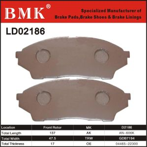 Advanced Quality Brake Pads (D2186) pictures & photos