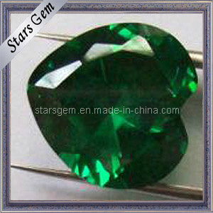 Brilliant Heart Green Loose Gemstone Nano Spinel Synthetic Spinel pictures & photos
