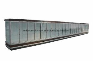 Glass Door Multideck Showcase for Supermarekt pictures & photos