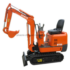 Promotion Price 0.8tons Mini Digger with Rubber Track pictures & photos