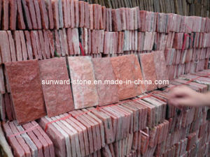 Quartz Tiles (Red) for Pavinging or Walling