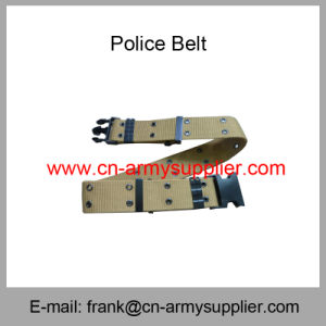 Wholesale Cheap China Brown Military Polyester Webbing Army Uniform Belt pictures & photos