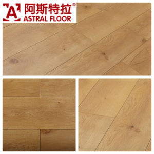 Big Size Laminate Flooring /Silk Surface (V-Groove) pictures & photos