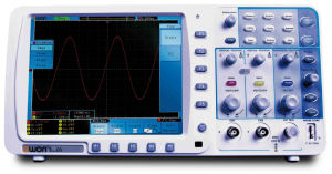 OWON 300MHz 2.5GS/s Deep Memory Digital Storage Oscilloscope (SDS8302) pictures & photos