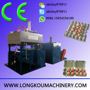 PLC Control Small Egg Tray Making Machine with CE Certificate
