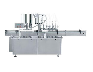 Automatic Liquid Filling and Capping Machine