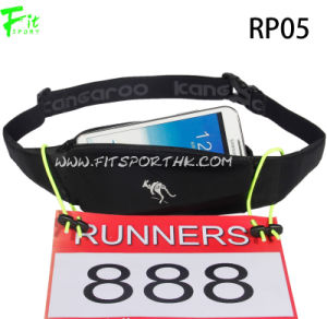 Adjustable Outdoor Sports Lycra Running Pouch with Inner Pocket Design