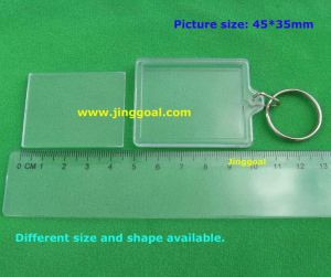 Blank Acrylic Keyring (JP926) pictures & photos