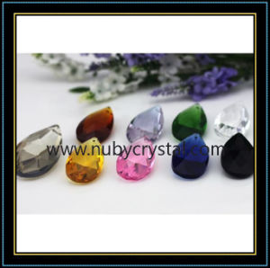 Almond Shape Crystal Lighting Bead pictures & photos