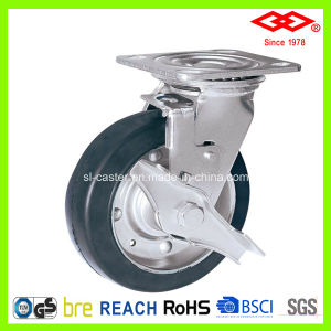 100mm Swivel Locking Heavy Duty Caster Wheel (P701-11F100X45S) pictures & photos