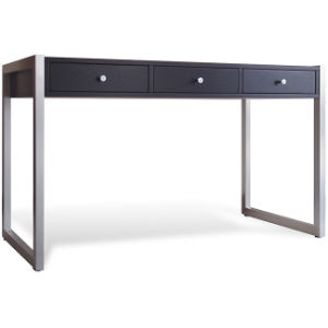 Black Metal Frame Office Desk Simple Computer Bd 03