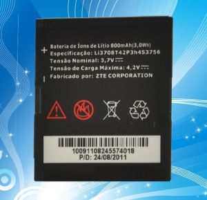 Hot Sale Brand Cell Mobile Phone Battery for Zte Li3708t42p3h453756