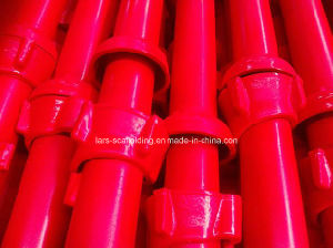 Red Painted Cuplock Scaffold From China Factory pictures & photos