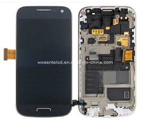 Assembly OEM LCD Screen Display + Touch Screen Digitizer Sensor Panel + Frame for Samsung Galaxy S4 Mini I9195 I9190