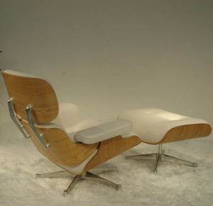 Peachy Ash Wood Eames Lounge Chair Gmtry Best Dining Table And Chair Ideas Images Gmtryco
