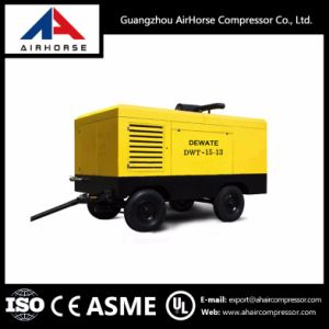 Diesel Driven Portable Electric Car Air Compressor pictures & photos