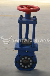 Flanged Pn16 Stainless Steel Pneumatic Knife Gate Valve 2′′