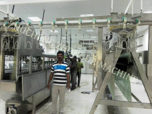 Finished Poultry Slaughter Machine Line pictures & photos
