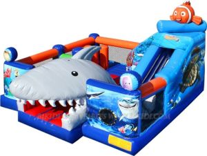 Inflatable Games, Interactive Finding Nemo Experience Slide Bouncer Castle (B3030) pictures & photos