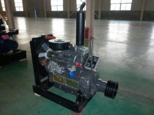 2018 Hot Sale 62kw 4 Cylinder Clutch Type Diesel Engine for Irrigation Use pictures & photos